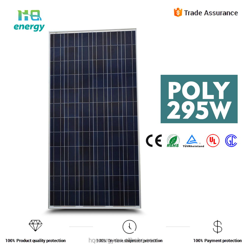 Mono Solar Panel 295w Solar Energy Power for Industrial Use