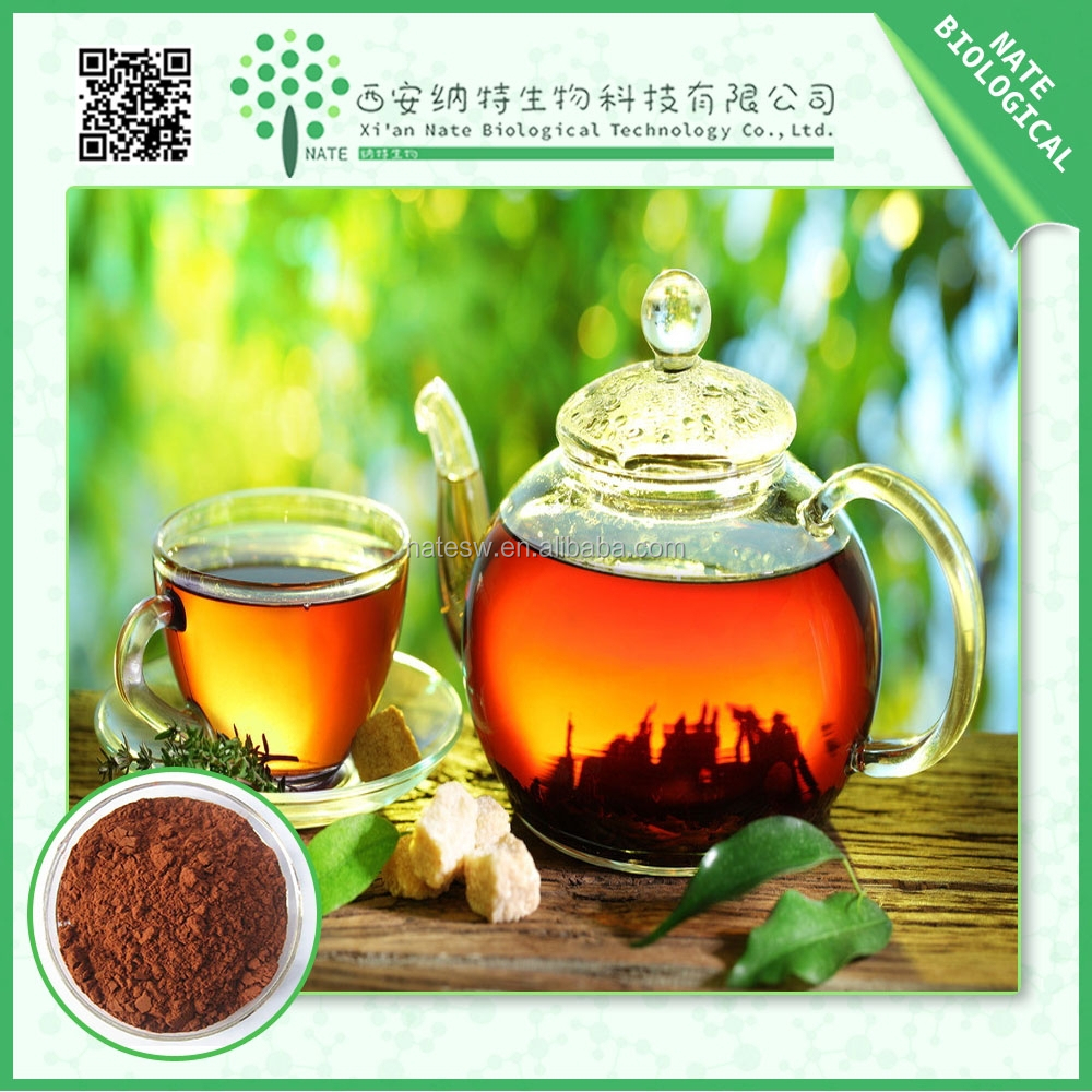 High Quality Bottom Price Chinese Black Tea Extract 30% Theaflavin by HPLC