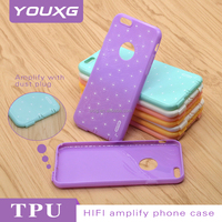 Prestigio mobile phone case TPU case with anti dust plug