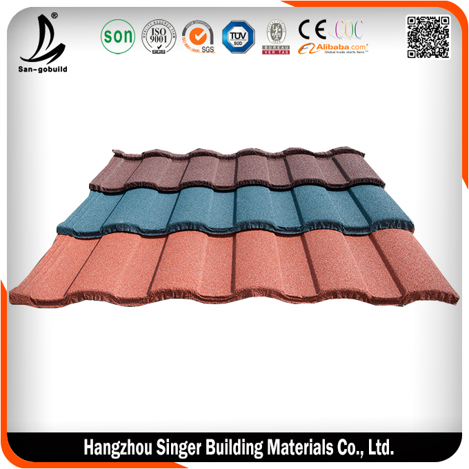 Lightweight construction material names colorful stone for Names of roofing materials
