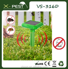 Ultrasonic insect Solar Power Ultrasonic Electronic Anti Mosquito Rat Mice Pest Bug Repeller electronic insect repellent
