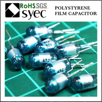 Tight Tolerances Radial Lead 302J 250V Polystyrene Film Capacitor