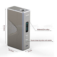 Vapor suppliers e-healthy Kamry 30 V2 Vaporizer Box Mod tobacco pipe
