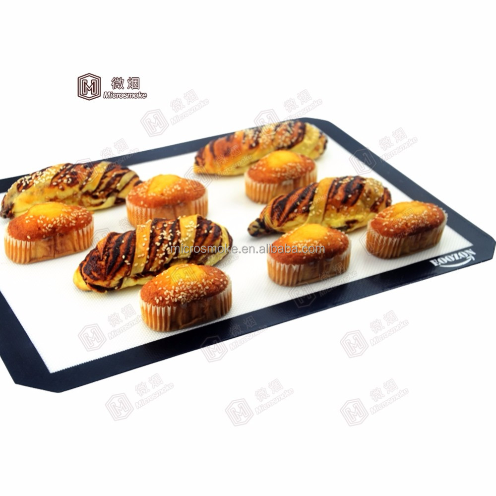 Custom silicone baking mat for different size and colors with factory the lower price for wholesale
