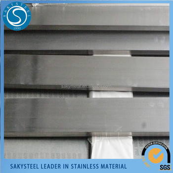 High quality stainless flat bar made in China