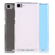 Ultra Thin Transparent Pudding Soft Silicon Cover Case for Xiaomi M3
