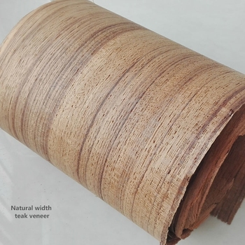 Burma Natural Width Teak Veneer for India market