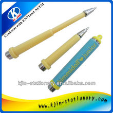 diferent size unhindered mini plastic ball pen