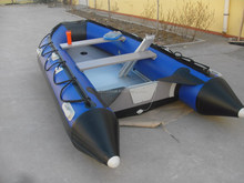 4 person inflatable rowing boat ,PVC boat