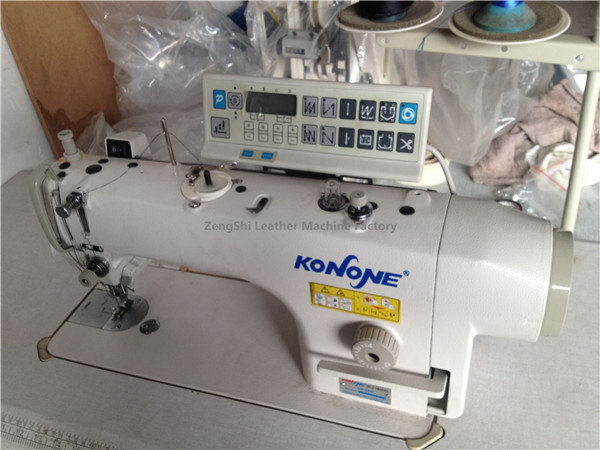 Popular best sell zigzag heavy duty sewing machine