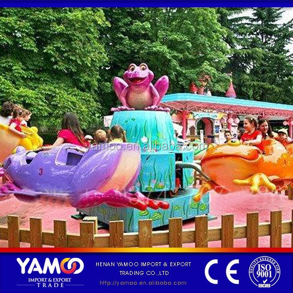 china rides manufacturer family rides frog jumping/bounce frog YM-JP-001