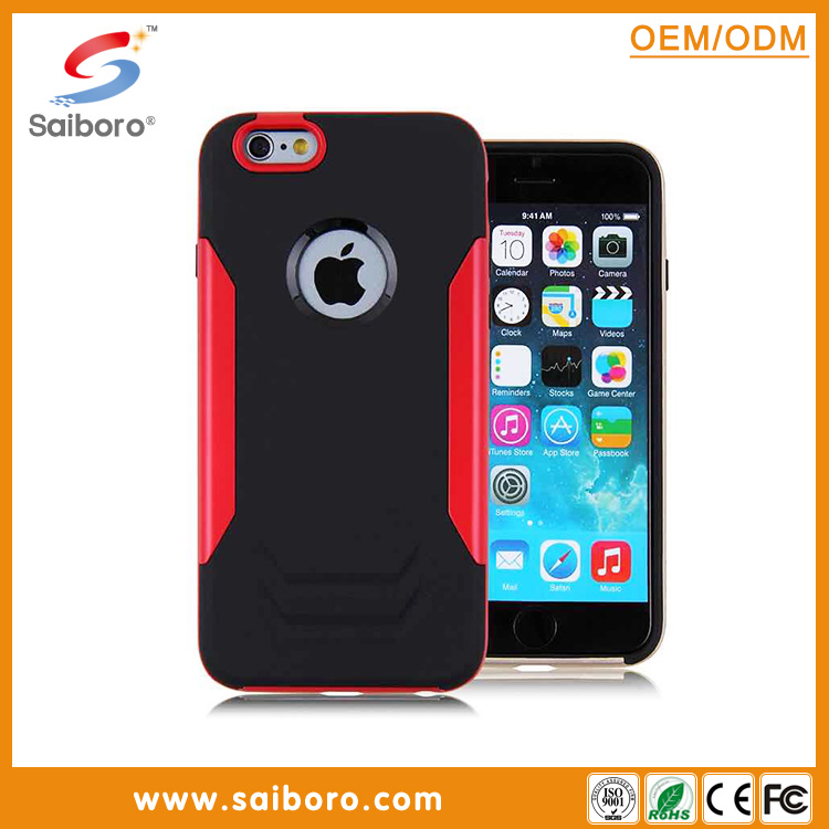 2016 best selling shockproof hard pc and soft tpu case cool design for iphone5 mobile phone cases