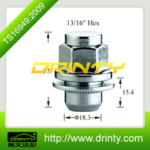 hot sale & high quality lug nuts m10x1.25 of China National Standard