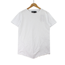 100% cotton korean white t-shirt for men plain round neck blank fit