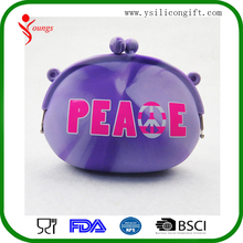 Best Price Fancy Silicone Wholesale Coin Pouch Coin Purse Manufacturer