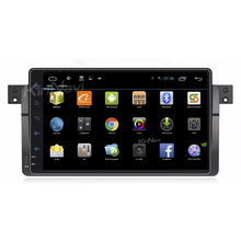 "KiriNavi WC-BW9019 9"" android 6.0 car radio dvd navigation for bmw e46 1998 - 2006 Dashboard Placement"