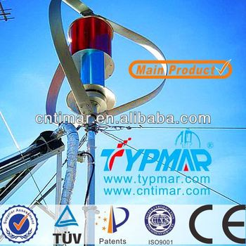 TYPMAR 300W to 3KW small Verticla Axis Wind Turbines