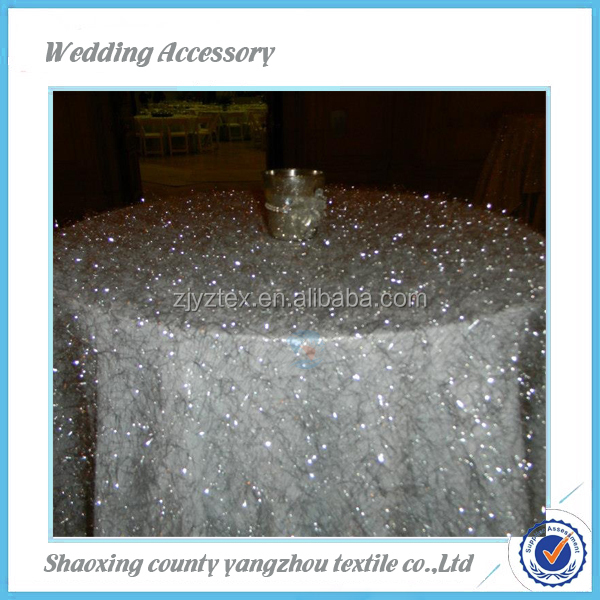 organza volie swirl embroidery table linen,table cloth