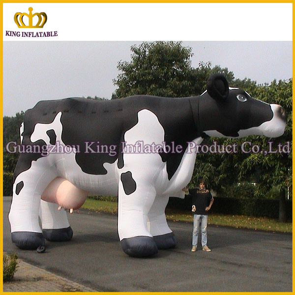 Giant inflatable farm animal cartoon,cheap commeriacl inflatable cow animals