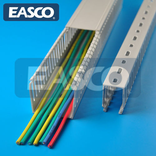 EASCO Wiring Raceway PC ABS Halogen Free Extruded Slotted UL94V0
