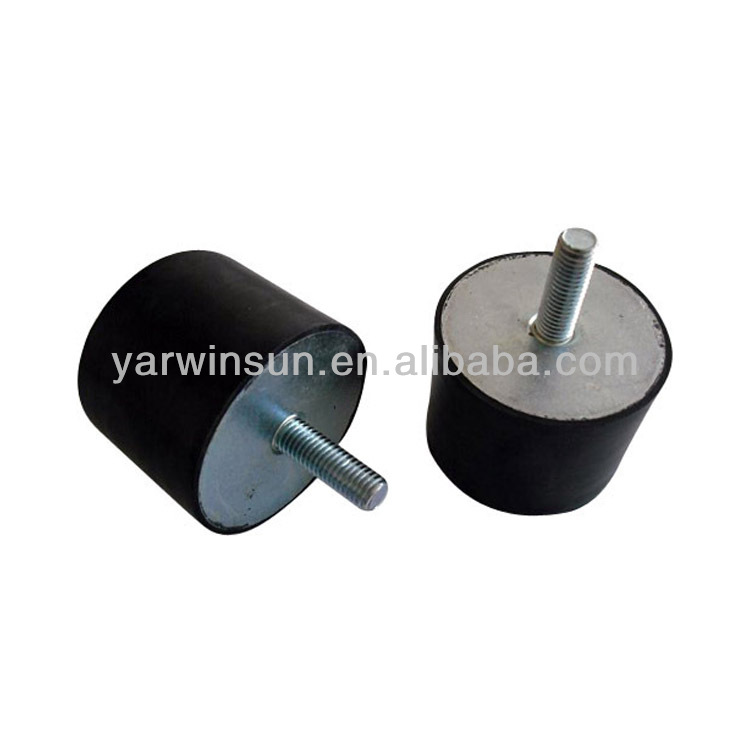 Anti vibration rubber mount for cars