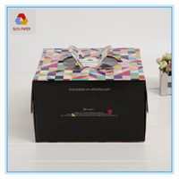 Fashion Foldable Large Paper Square Birthday