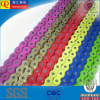 High quality 428H 116L color motorcycle chain for honda motorcycles