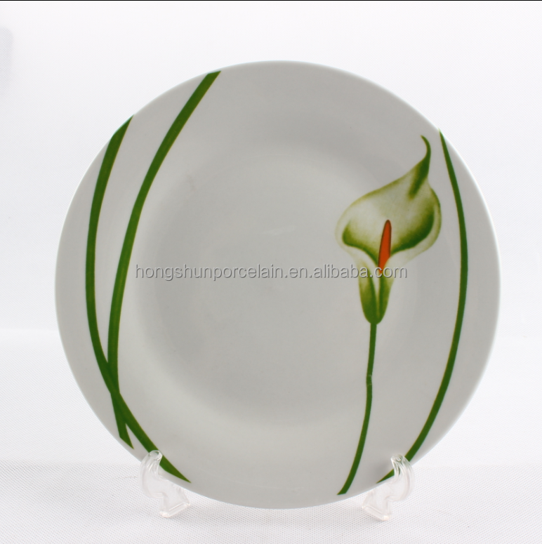 Modern Kitchen Round Shape Tableware Set Plate And Dish Set