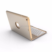 Aluminium Bluetooth keyboard for iPad 2017 new iPad with protector function