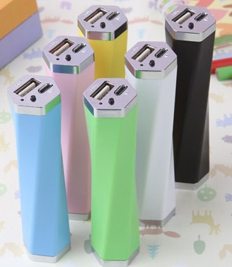 2015 best gifts Colorful Portable Power Bank Beautiful mobile charger,2200mah power bank