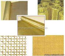 Anping supply 60 70 100 250 mesh brass/bronze/red copper/red copper Wire Mesh