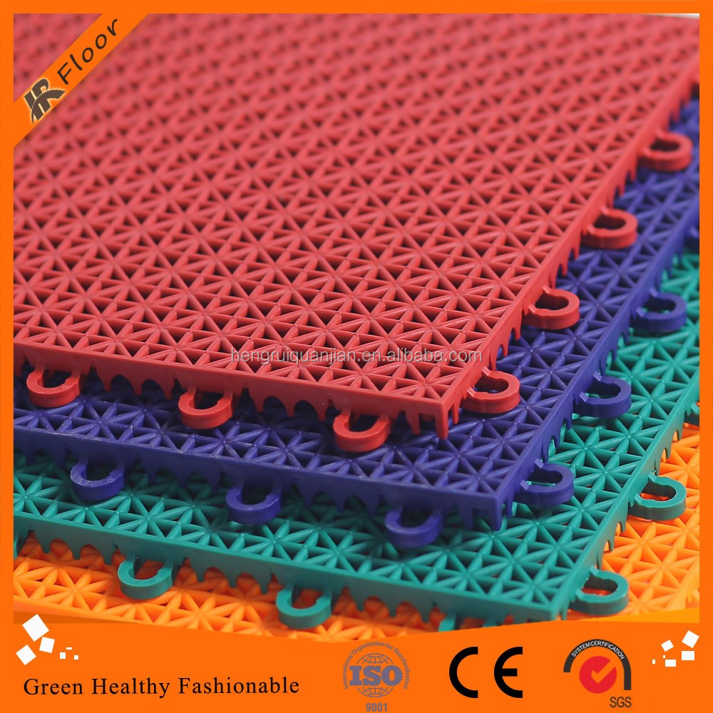 Multi-purpose sport floor synthetic badminton court flooring