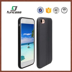 Factory price cell phone case wholesale pu leather cell phone case for iphone 7
