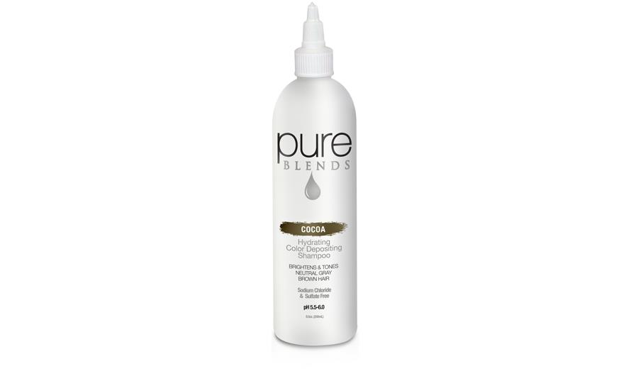 Pure Blends Cocoa Color Depositing Shampoo