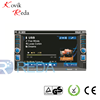 JK6221 NEW/HOT Double Din 6.2'' touch screen,GPS, Bluetooth, TV, PIP, IPod, 3D UI in-dash 2 din car dvd
