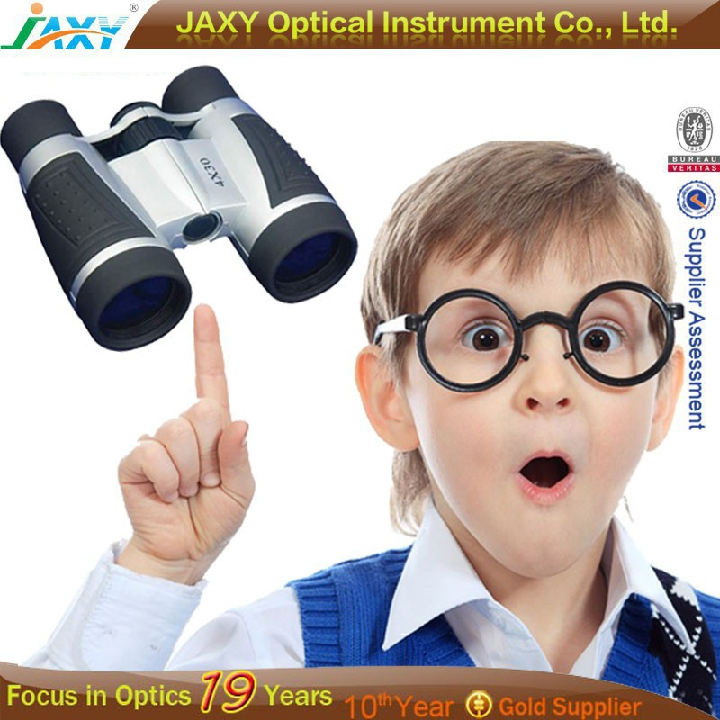 Educational Science Kits Promotion & Gift Plastic Mini Telescope Toy Binoculars For Kids