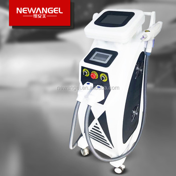 Hot sale multifunctional rf yag laser e light machine for salon