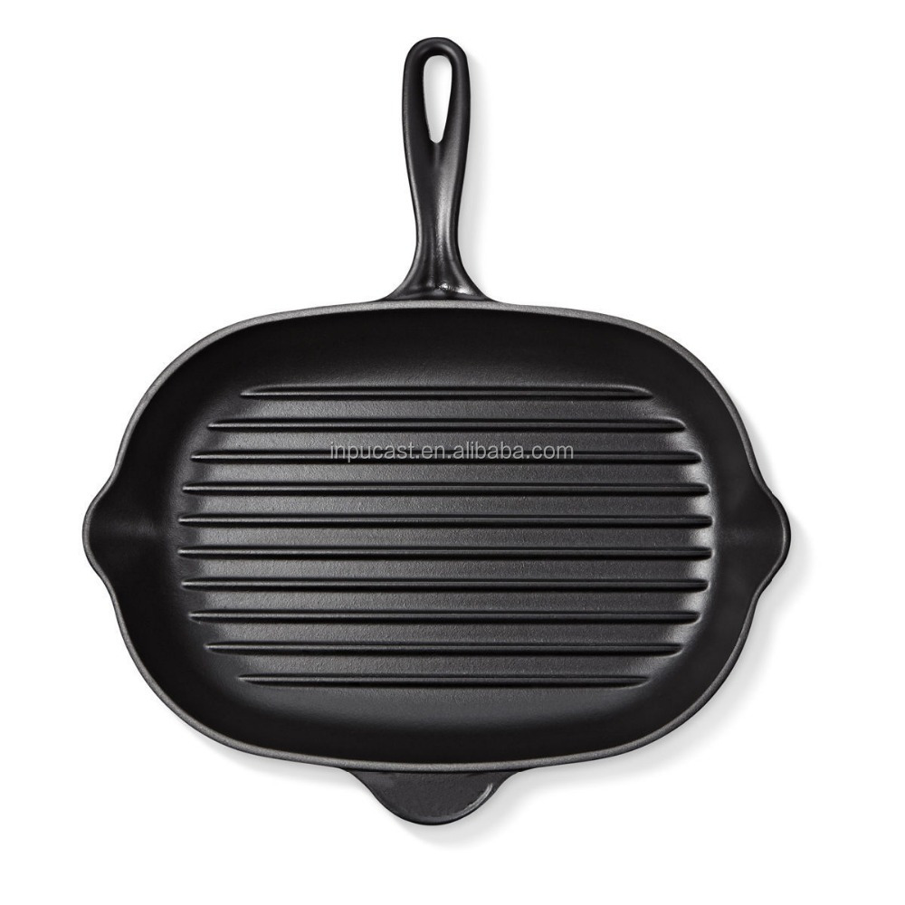 Eco-Friendly cast iron cookware pan