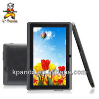 "7"" allwinner A13 mid tablet software download 512MB RAM 4GB HDD Tablet PC"