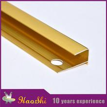 Furniture decoration material Haoshi aluminum metal edge trim