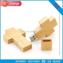 Personality creative gift customized wooden usb flash drive 4g 8g 16g 32g pen drive external storage Flash memory disk