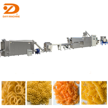 Frying Corn Wheat Flour Pellets Snack Food Manufacturing Equipment