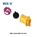 PA6 atuo 4 pin male female connectors good quality DJ7049-6.3-21