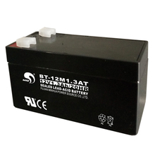 Small rechargeable 12v battery 1.3ah for toy car
