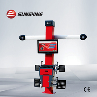 High Accuracy 3D Wheel Alignment Machine for Sale with CE cheap price