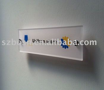 plastic acrylic adversting board door sing holders