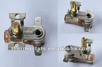 adjustable bimetallic heater flyer thermostat