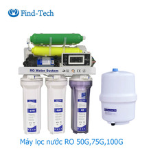 Home drinking reverse osmosis undersink 75G water purification system ro water filter machines purifier water