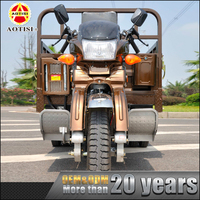 China supplier engine power 3 wheel gasoline motor tricycle motorcycle in india