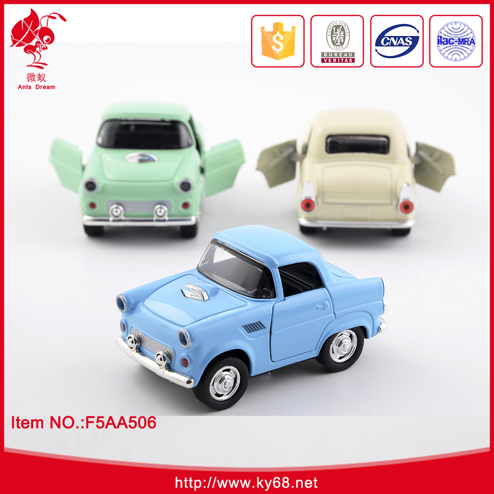 Wholesale diecast cars 1:38 diecast cars toys for kids pull back toys with light and sound
